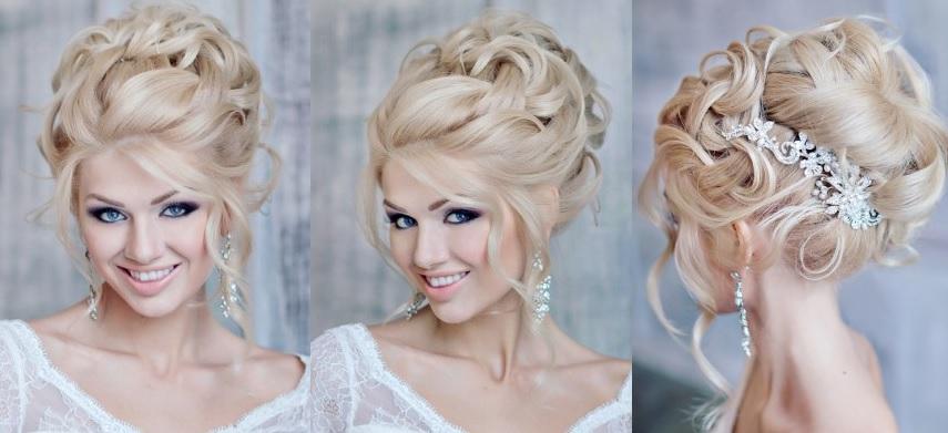 Прическа на свадьбу длинные волосы мастер класс